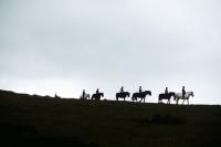 Picture of trekking on dartmoor